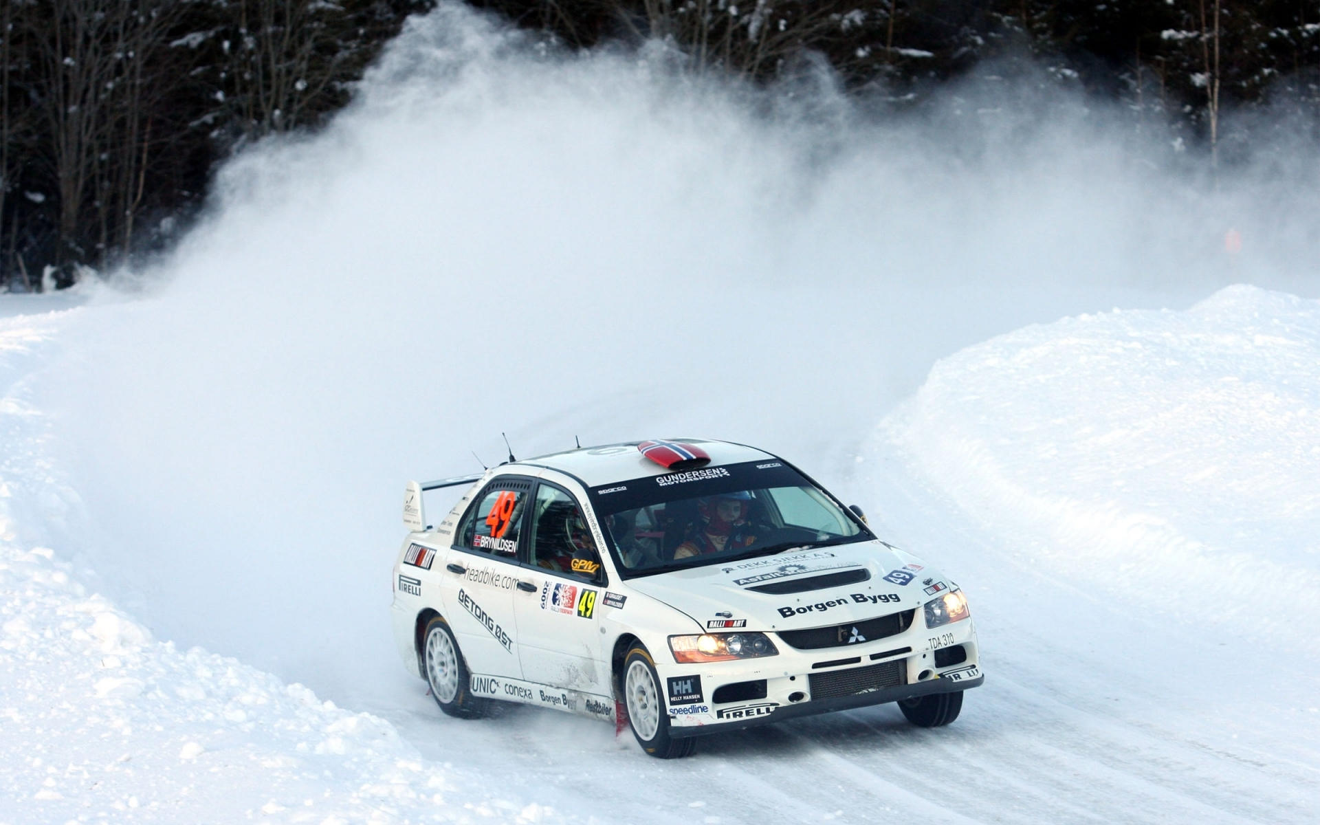 29656 download wallpaper Sports, Auto, Mitsubishi, Rally screensavers and pictures for free