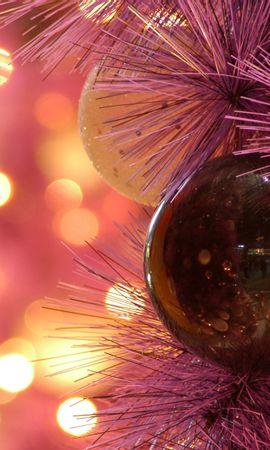 14091 скачать обои Праздники, Фон, Новый Год (New Year), Игрушки, Рождество (Christmas, Xmas) - заставки и картинки бесплатно