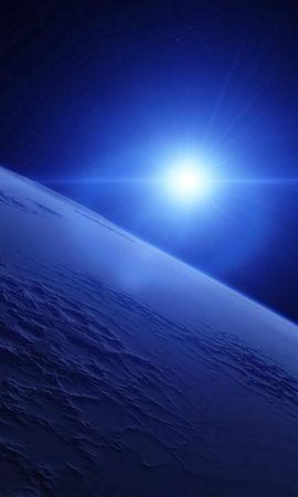 Baixar papel de parede gratuito 127965: papel de parede Universo, Planeta, Superfície, Estrelas para telefone celular