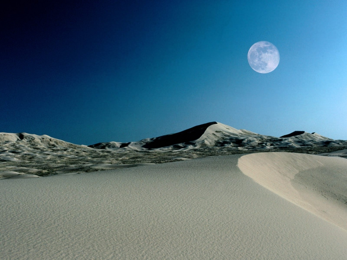 29197 download wallpaper Landscape, Moon, Desert screensavers and pictures for free