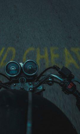 117896 télécharger le fond d'écran Moto, Motocyclette, Bicyclette, Vélo, Route, Asphalte - économiseurs d'écran et images gratuitement