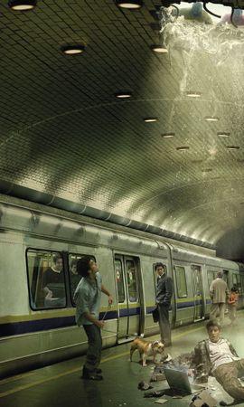 32009 скачать обои Транспорт, Люди, Поезда - заставки и картинки бесплатно