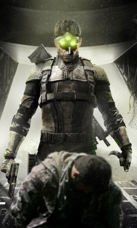 24547 download wallpaper Games, Splinter Cell screensavers and pictures for free
