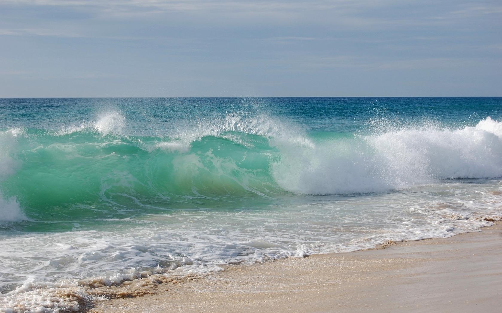 28448 скачать обои Пейзаж, Море, Волны, Пляж - заставки и картинки бесплатно