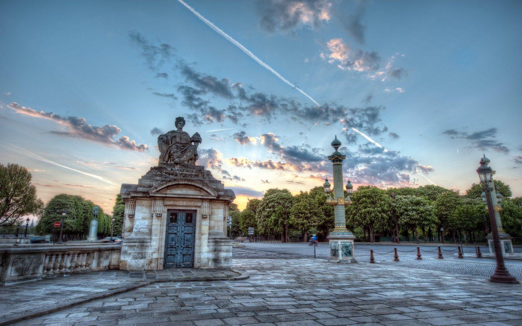 63095壁紙のダウンロードパリ, フランス, 建物, Hdr, 都市-スクリーンセーバーと写真を無料で