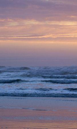 28258 скачать обои Пейзаж, Закат, Море, Волны, Пляж - заставки и картинки бесплатно