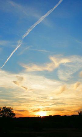 27875 скачать обои Пейзаж, Закат, Небо, Облака - заставки и картинки бесплатно
