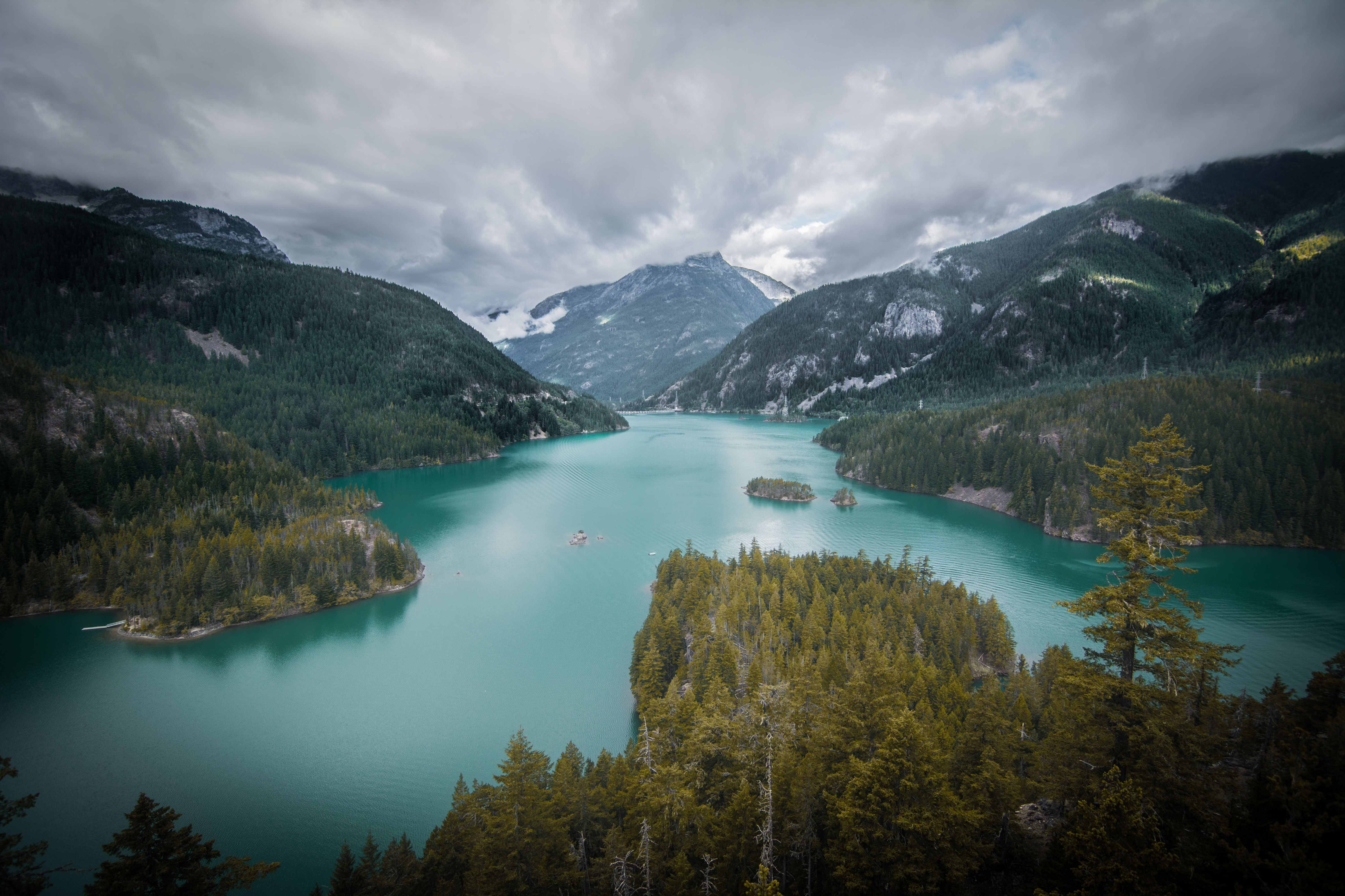 141291 free wallpaper 240x320 for phone, download images Landscape, Nature, Trees, Mountains, View From Above, Lake 240x320 for mobile