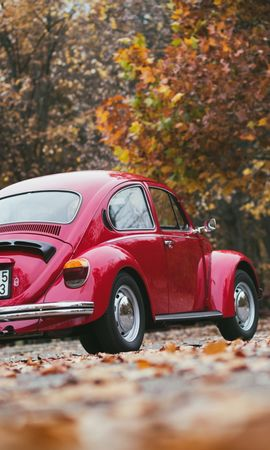 121868 Screensavers and Wallpapers Volkswagen for phone. Download Cars, Volkswagen, Back View, Rear View pictures for free