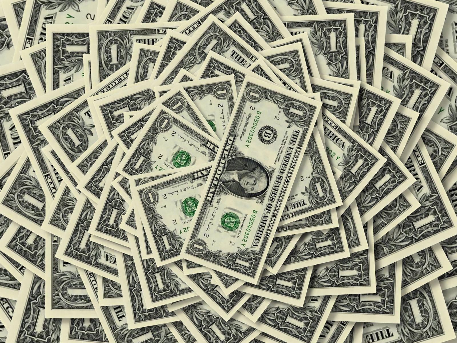 84265 скачать обои Деньги, Фон, Разное, Купюры, Один, Доллар, Количество, Достоинство - заставки и картинки бесплатно