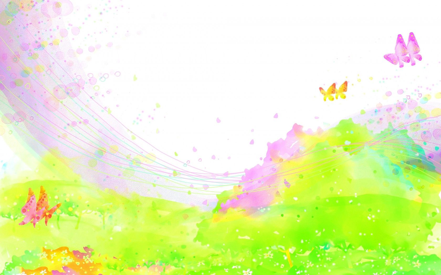 103136 Screensavers and Wallpapers Butterflies for phone. Download Abstract, Paints, Spray, Field, Butterflies, Flowers pictures for free