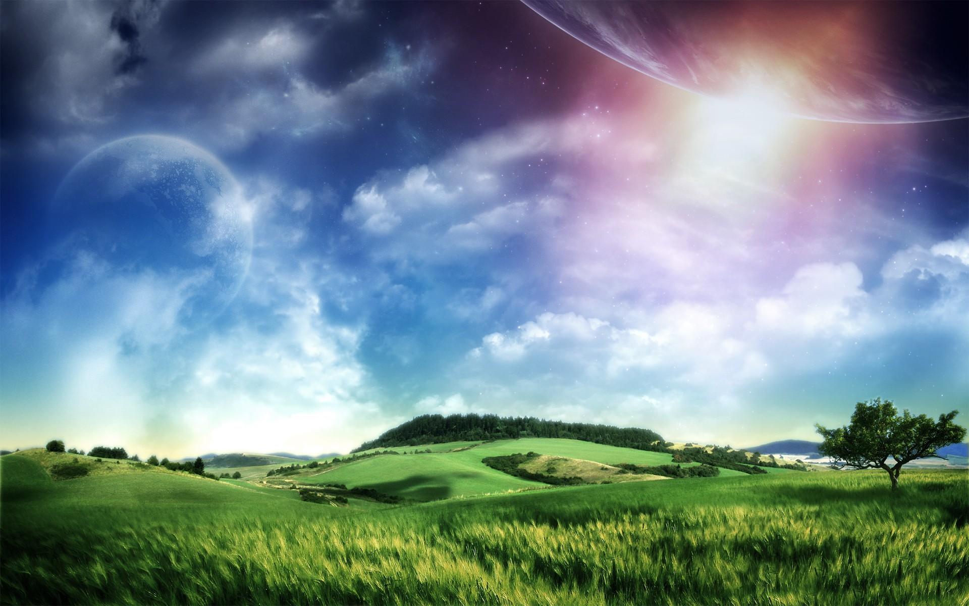 12668 скачать обои Пейзаж, Небо, Солнце - заставки и картинки бесплатно