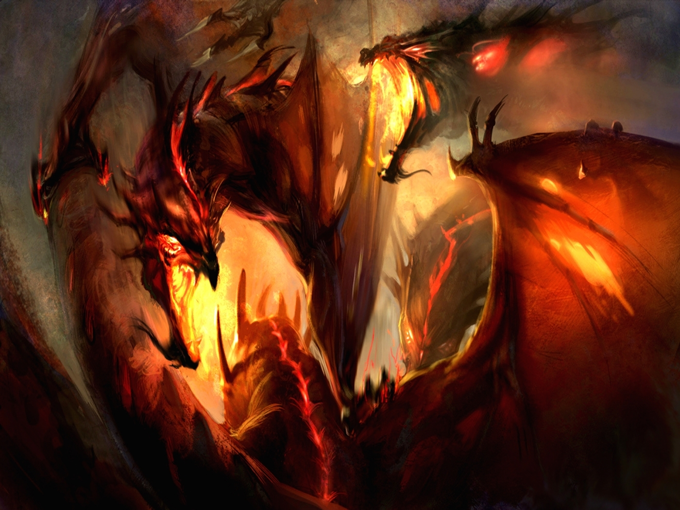 31287 Screensavers and Wallpapers Dragons for phone. Download Fantasy, Dragons pictures for free