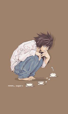 16461 скачать обои Мультфильмы, Аниме, Тетрадь Смерти (Death Note) - заставки и картинки бесплатно