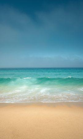 106928壁紙のダウンロード自然, 海洋, 大洋, ショア, 銀行, 地平線, 波-スクリーンセーバーと写真を無料で
