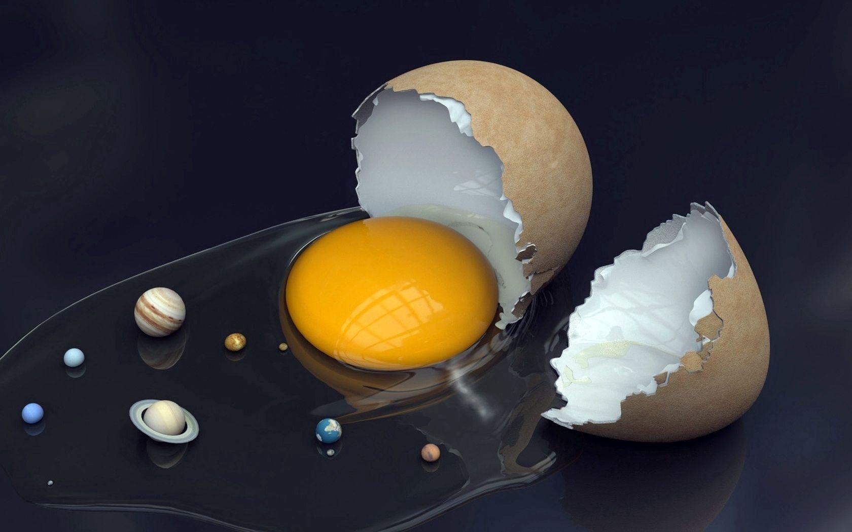 96612 Заставки и Обои Яйца на телефон. Скачать Еда, Планеты, Яйца, Солнце, Скорлупа, Желток картинки бесплатно