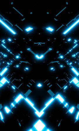 125376 télécharger le fond d'écran Abstrait, Fractale, Briller, Lueur, Lumière, Brillant - économiseurs d'écran et images gratuitement
