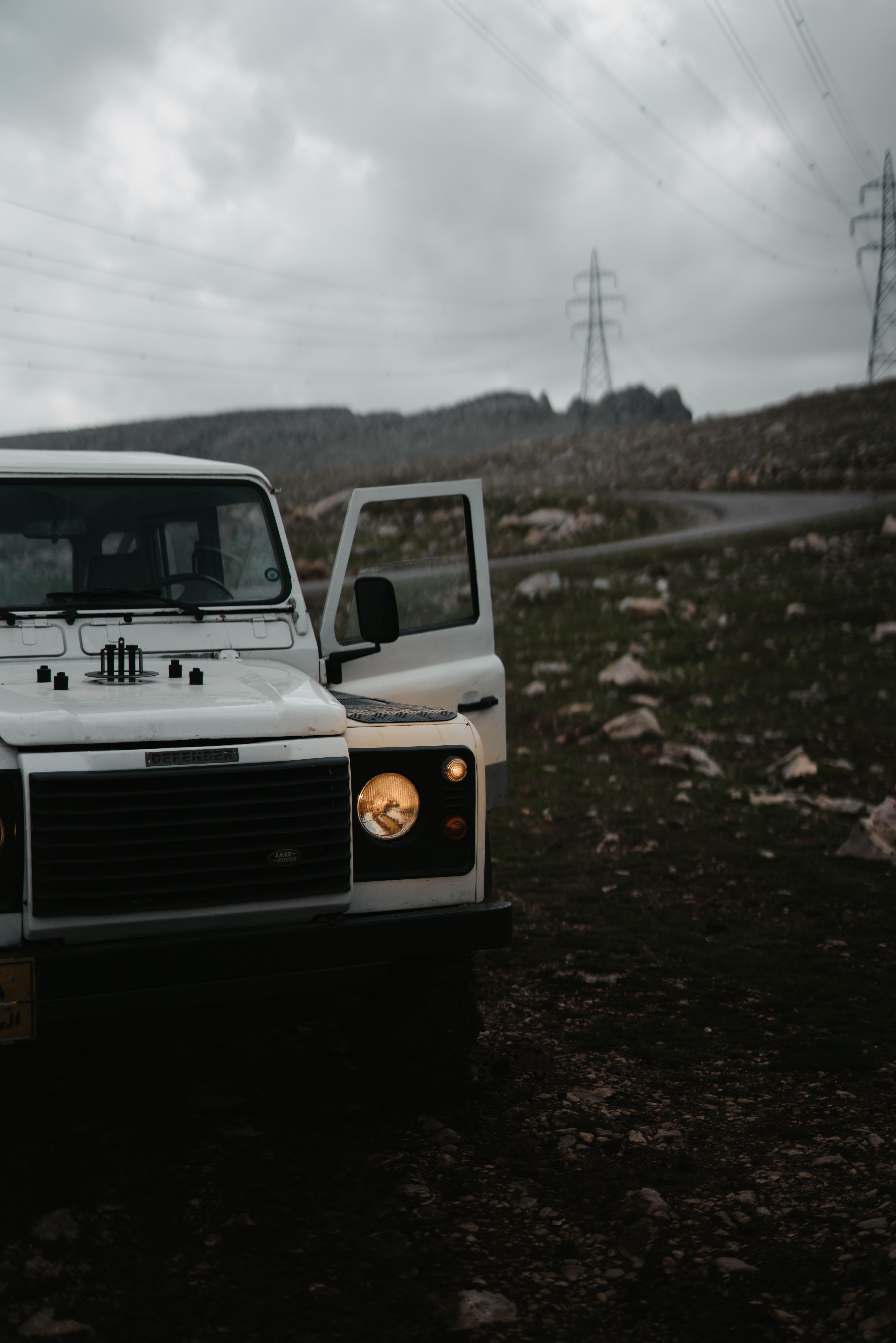 58572 завантажити шпалери Ленд Ровер, Тачки, Дорога, Автомобіль, Позашляховик, Land Rover Defender, Land Rover Захисник - заставки і картинки безкоштовно