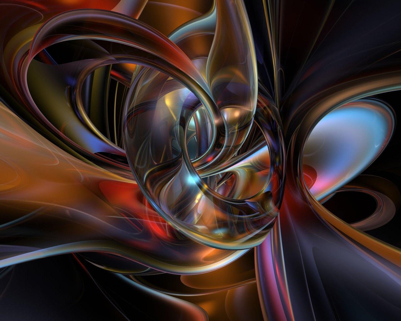 53534 скачать обои Абстракция, Цвет, Форма, Стекло, Фигура, Соединение - заставки и картинки бесплатно