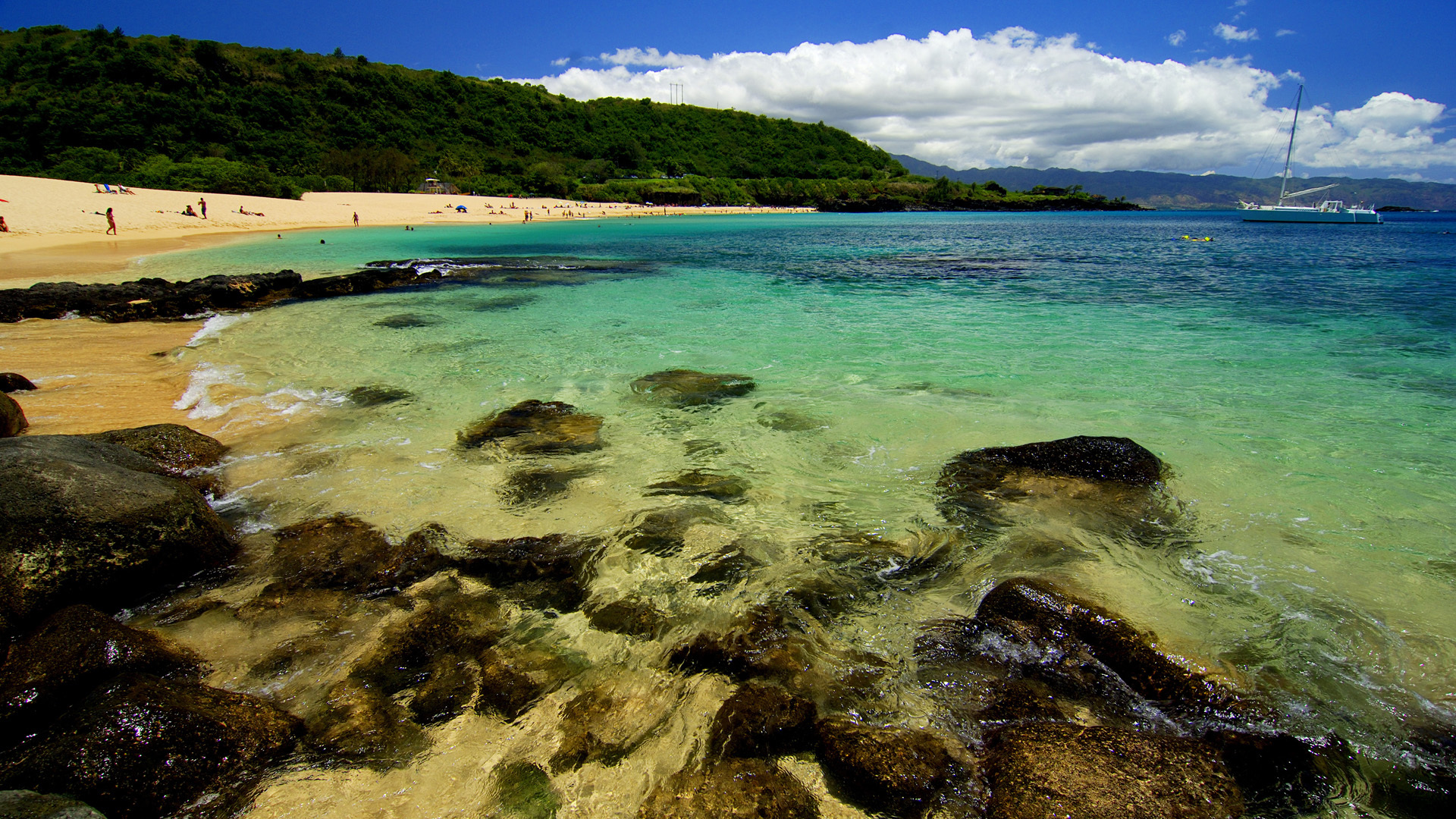 29307 скачать обои Пейзаж, Море, Пляж - заставки и картинки бесплатно