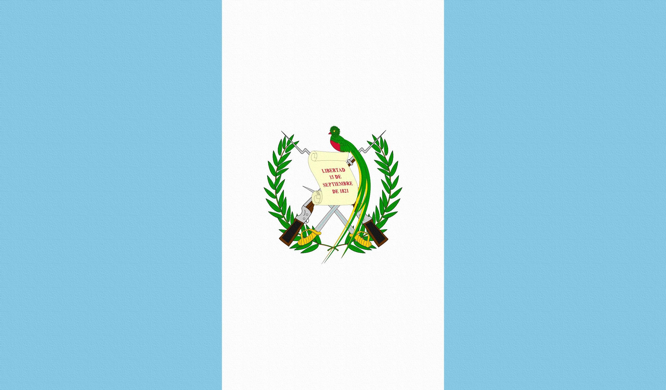 130576 Hintergrundbild herunterladen Wappen, Verschiedenes, Sonstige, Flagge, Flag, Guatemala - Bildschirmschoner und Bilder kostenlos