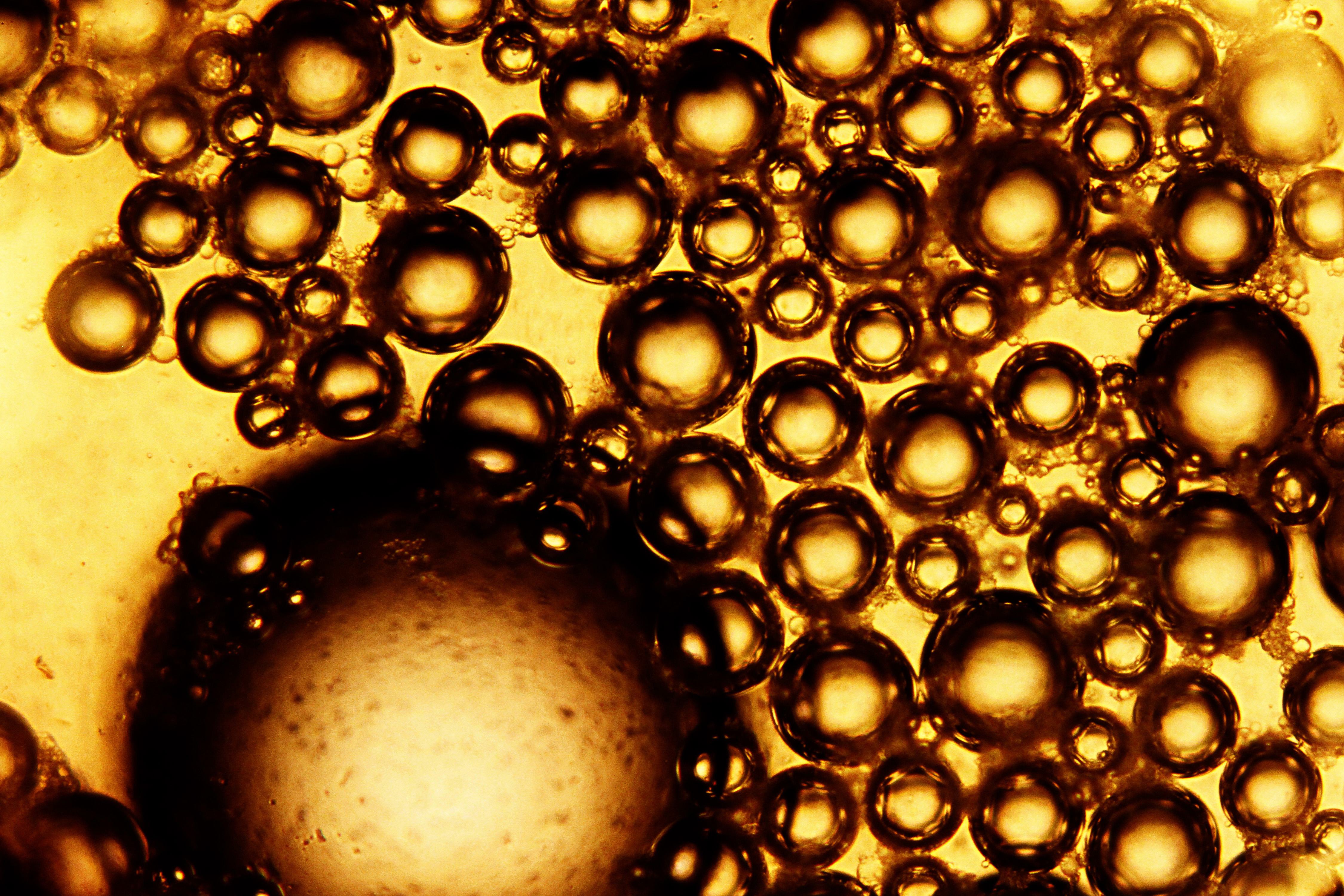 68060 download wallpaper Macro, Liquid, Texture, Brown, Bubbles screensavers and pictures for free