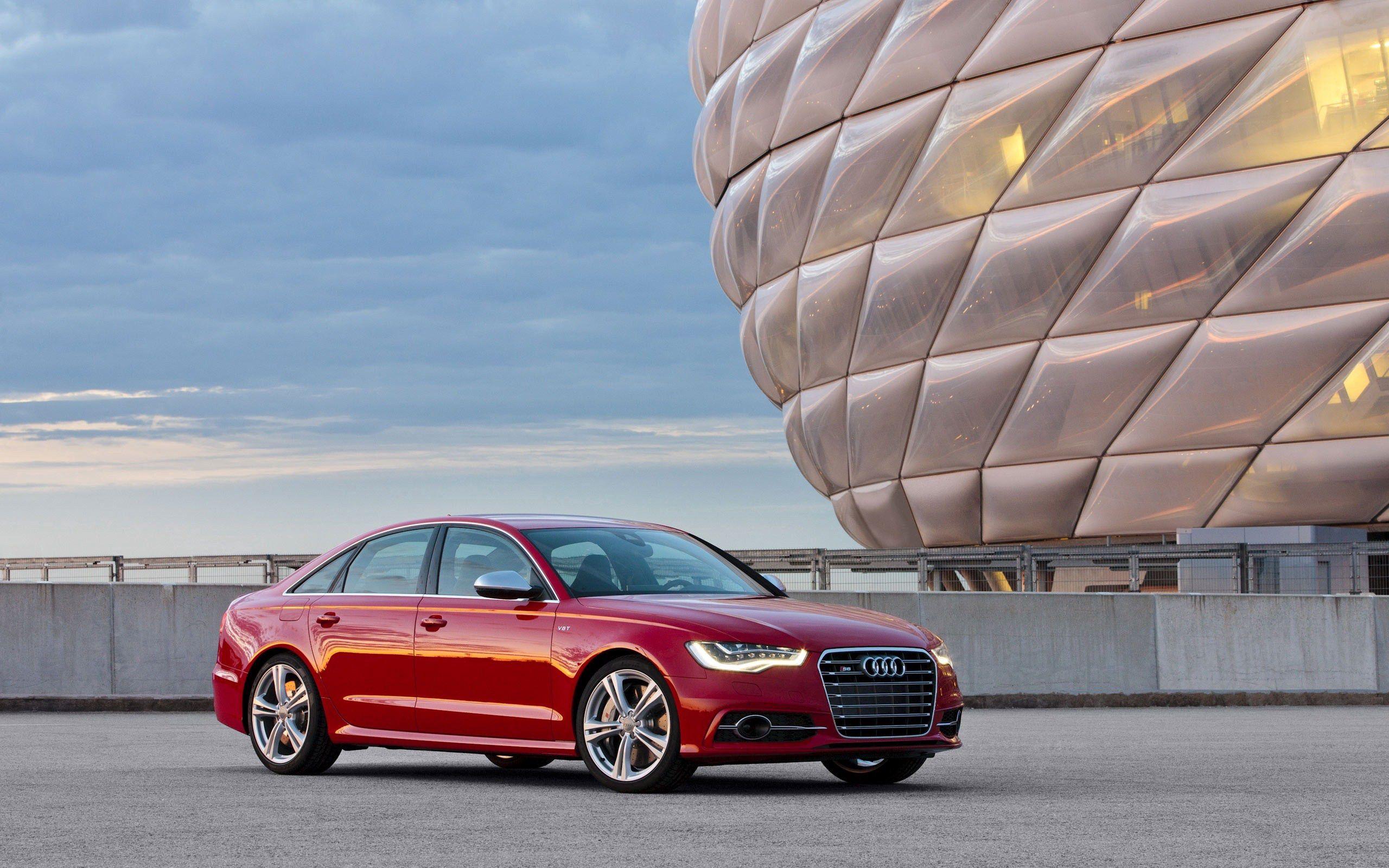 147251 скачать обои Тачки (Cars), Audi S6, Машины, Красный, Новинка, 2014 - заставки и картинки бесплатно