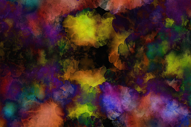 61102 скачать обои Абстракция, Разводы, Разноцветный, Текстура, Темный, Пятна - заставки и картинки бесплатно