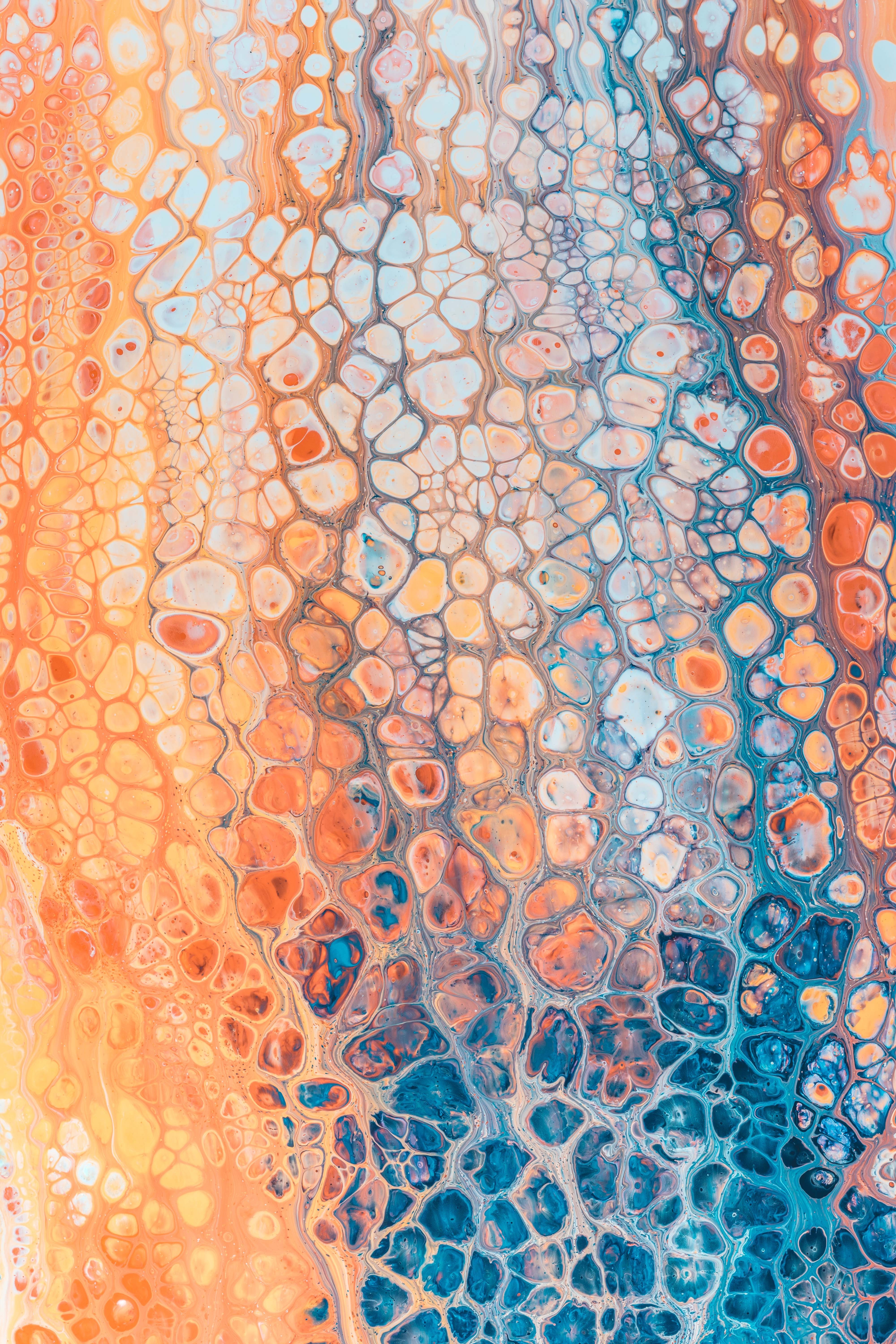 130737 download wallpaper Abstract, Paint, Stains, Spots, Surface, Bubbles screensavers and pictures for free