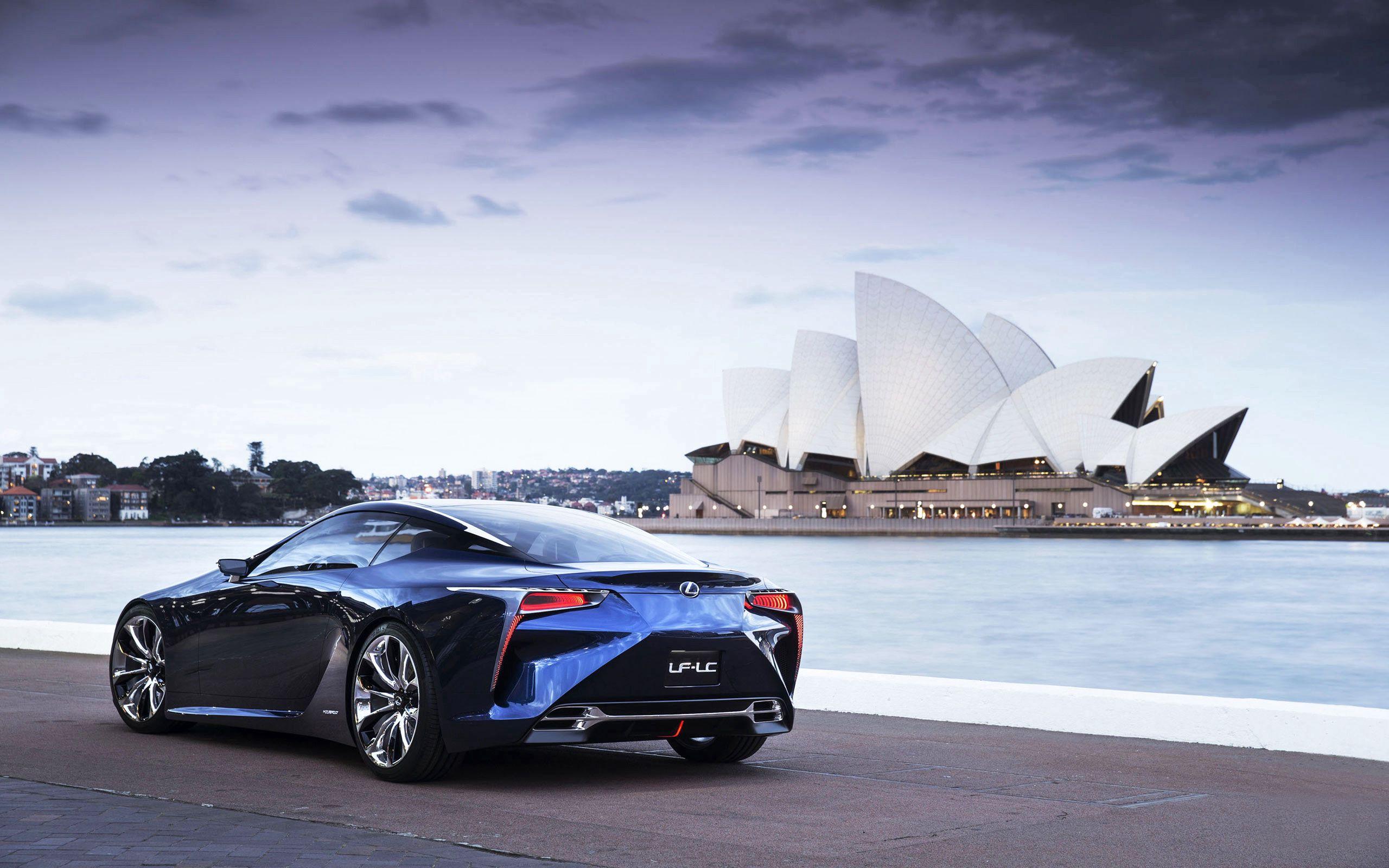 148681 Hintergrundbild herunterladen Lexus, Sydney, Cars, Australien, Oper, Opera, Lexus Lf Lc, Nsw, New South Wales - Bildschirmschoner und Bilder kostenlos