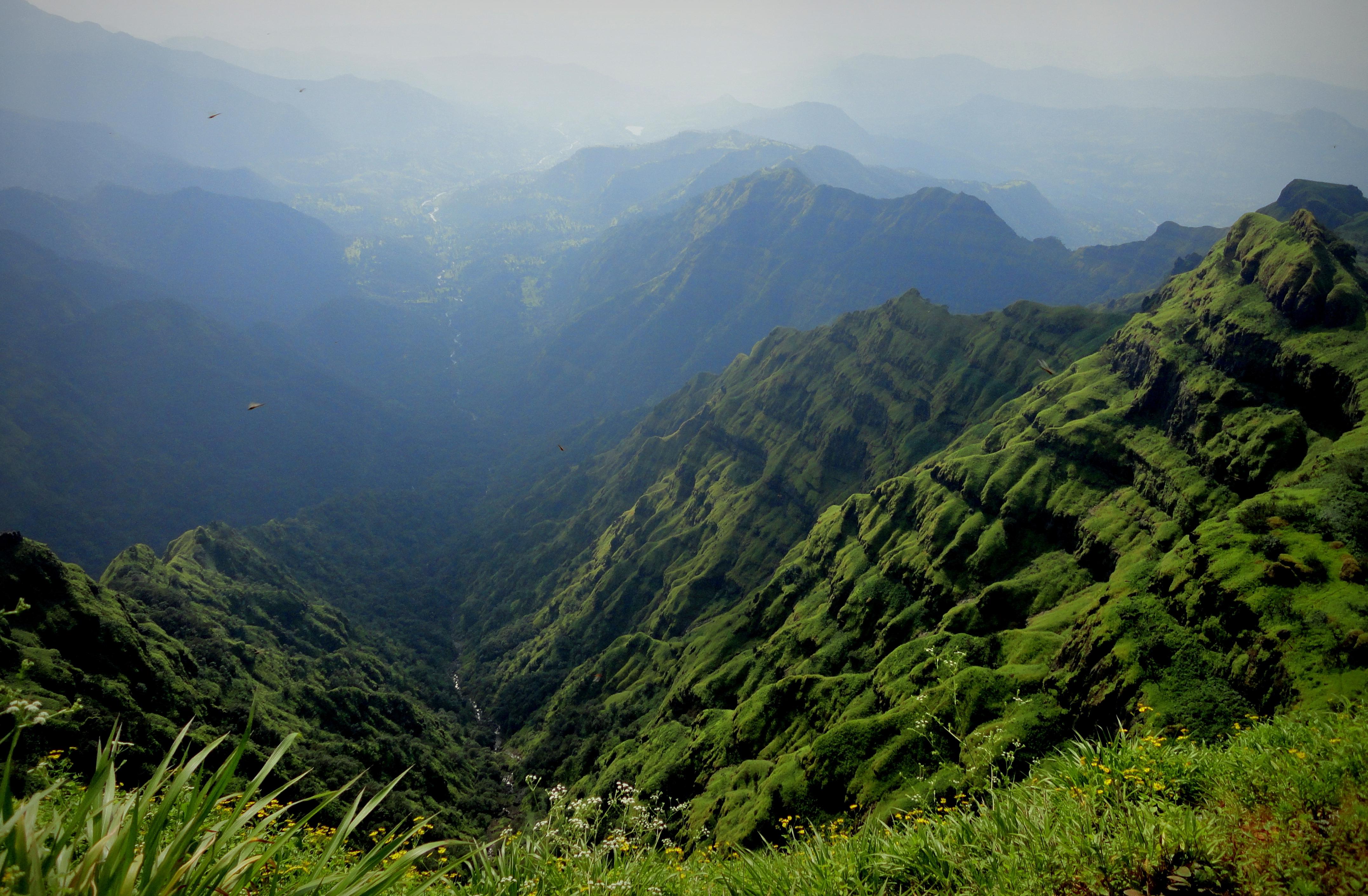 98218 Hintergrundbild herunterladen Landschaft, Natur, Mountains, Nebel - Bildschirmschoner und Bilder kostenlos