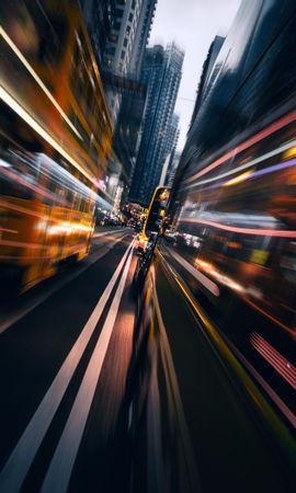 59450 descargar fondo de pantalla Tráfico, Movimiento, Ciudad, Velocidad, Transporte, Brillar, Luz, Ciudades: protectores de pantalla e imágenes gratis