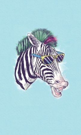 21121 download wallpaper Funny, Animals, Background, Zebra screensavers and pictures for free