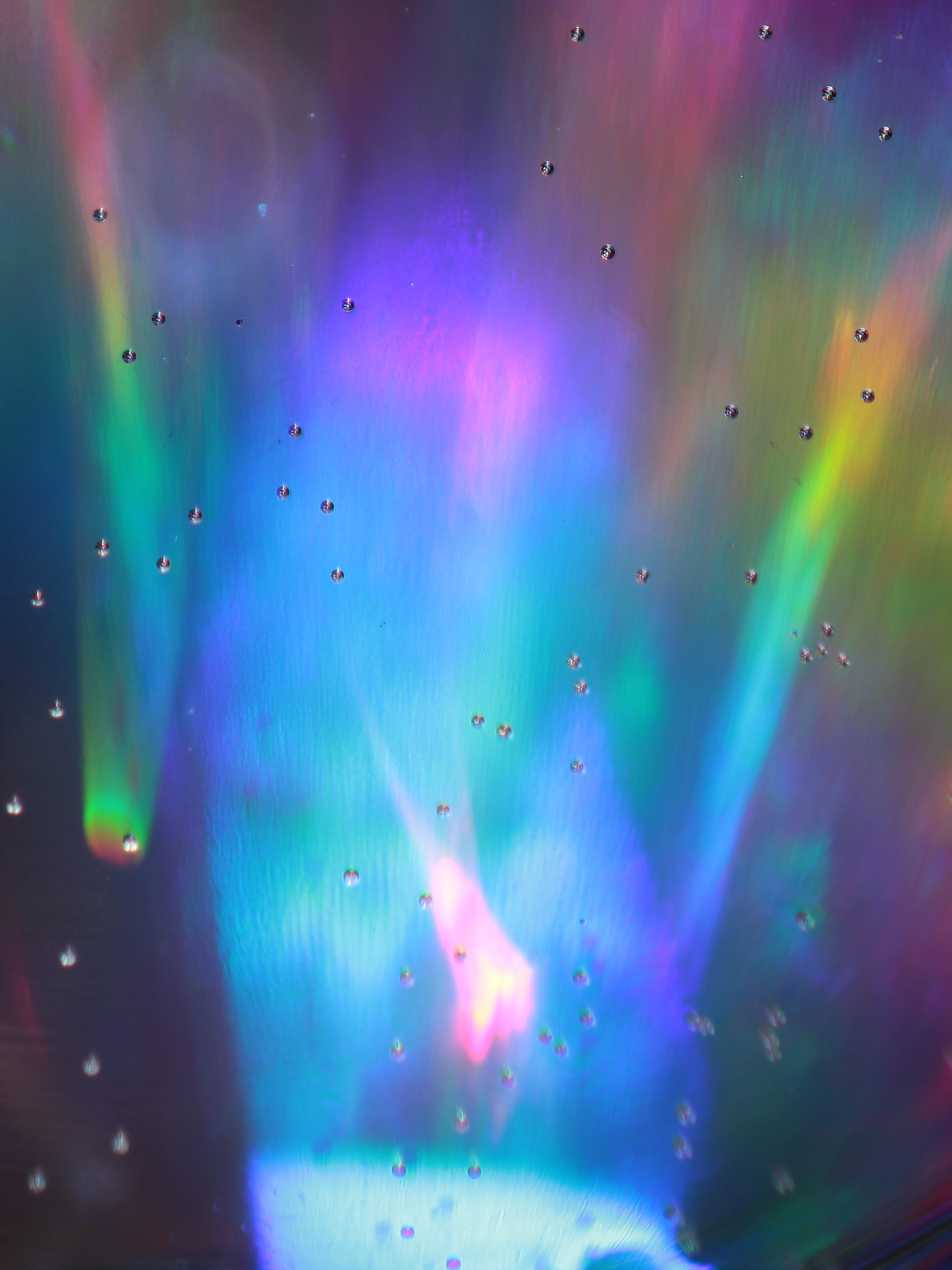 74525 download wallpaper Abstract, Glow, Lines, Stains, Spots, Multicolored, Motley, Bubbles screensavers and pictures for free