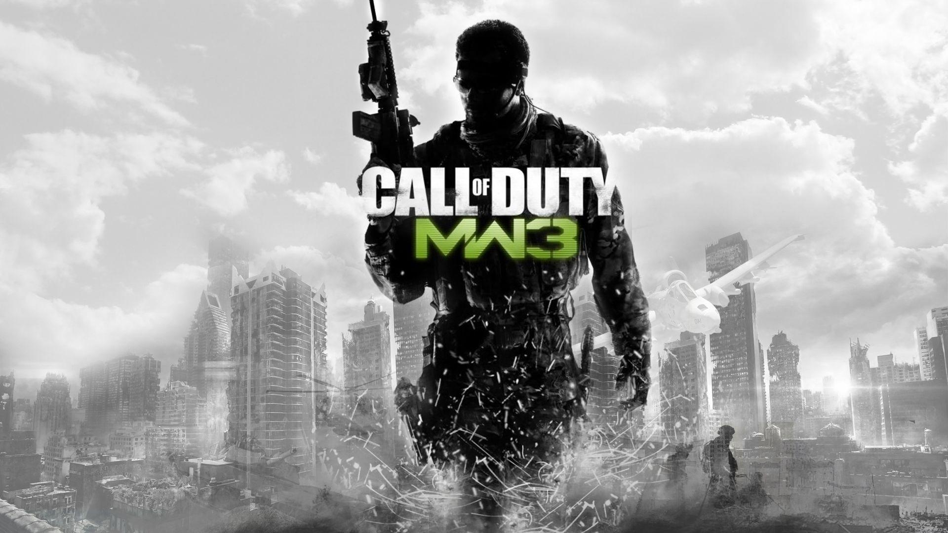 28750 Hintergrundbild herunterladen Menschen, Call Of Duty (Cod), Waffe - Bildschirmschoner und Bilder kostenlos