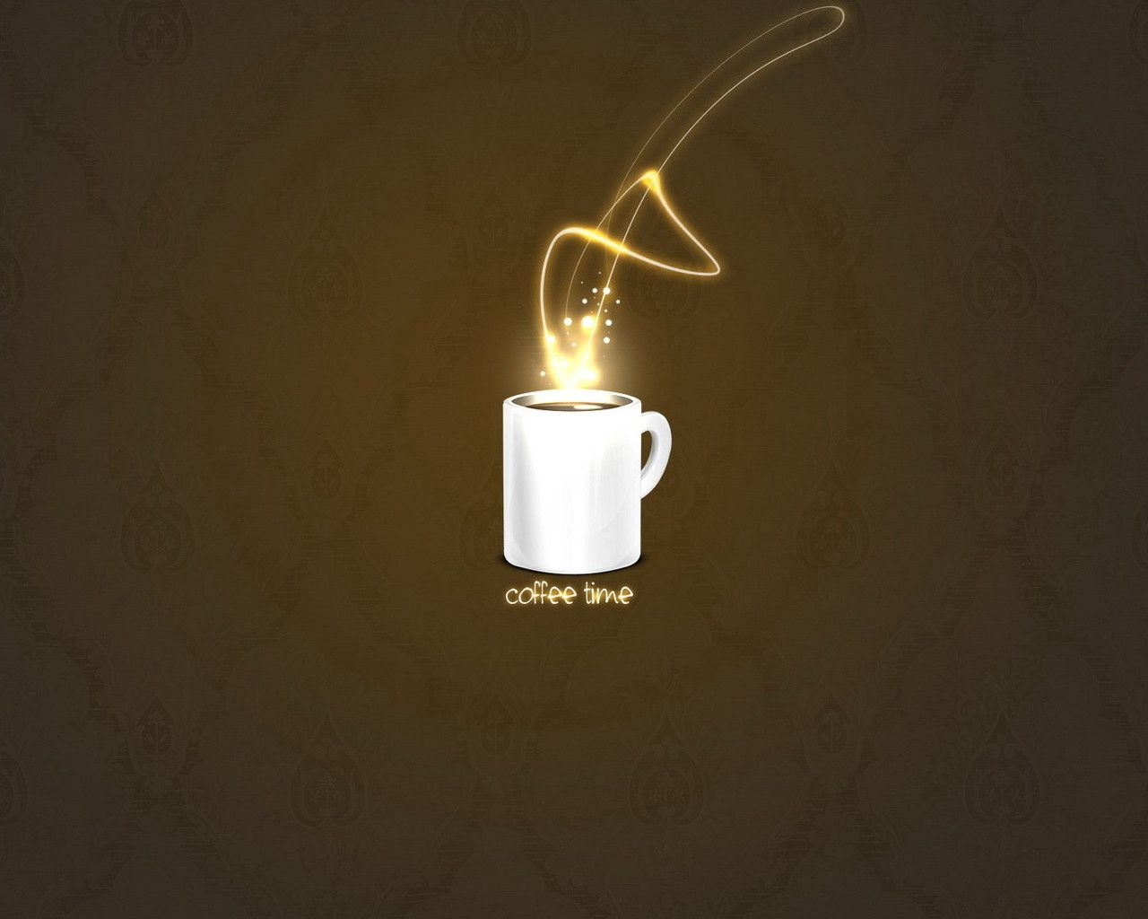 98783 download wallpaper Vector, Coffee, Brown, Cup, Abstract screensavers and pictures for free