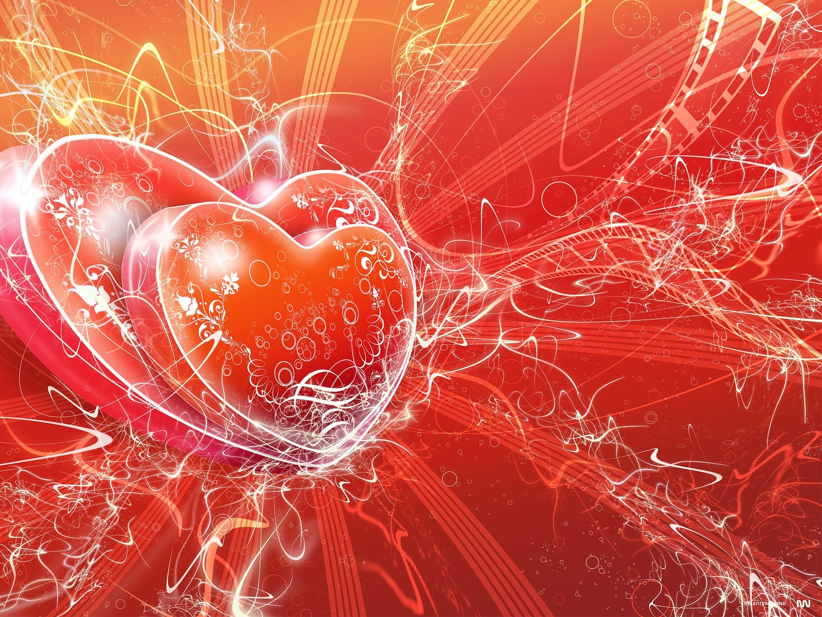 7126 download wallpaper Holidays, Hearts, Valentine's Day screensavers and pictures for free
