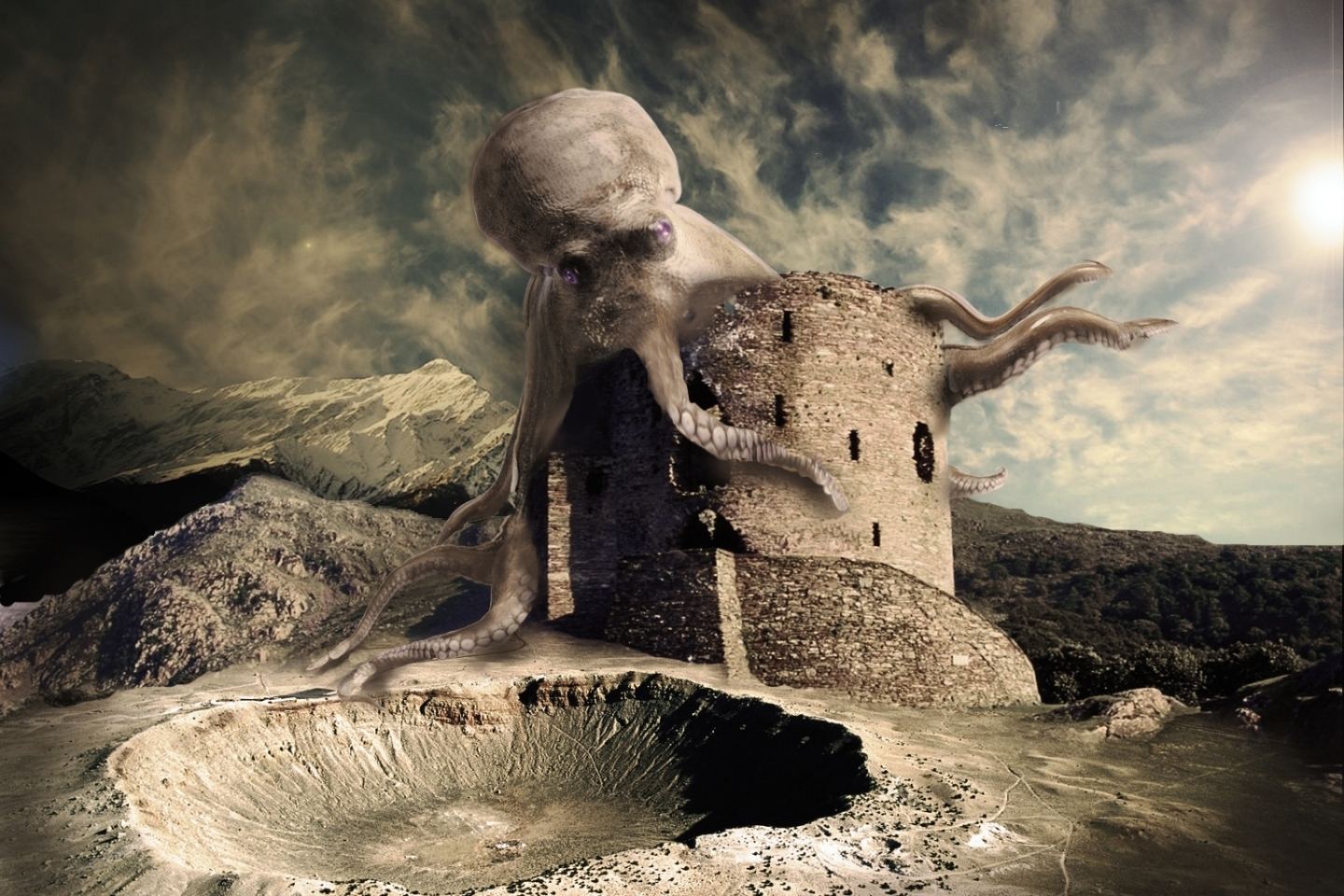 29001 download wallpaper Fantasy, Octopus screensavers and pictures for free