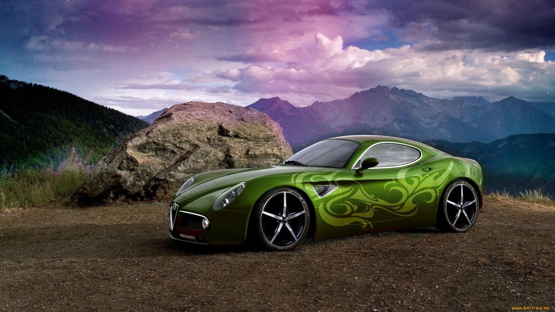 23489 скачать обои Транспорт, Машины, Тюнинг, Альфа Ромео (Alfa Romeo) - заставки и картинки бесплатно
