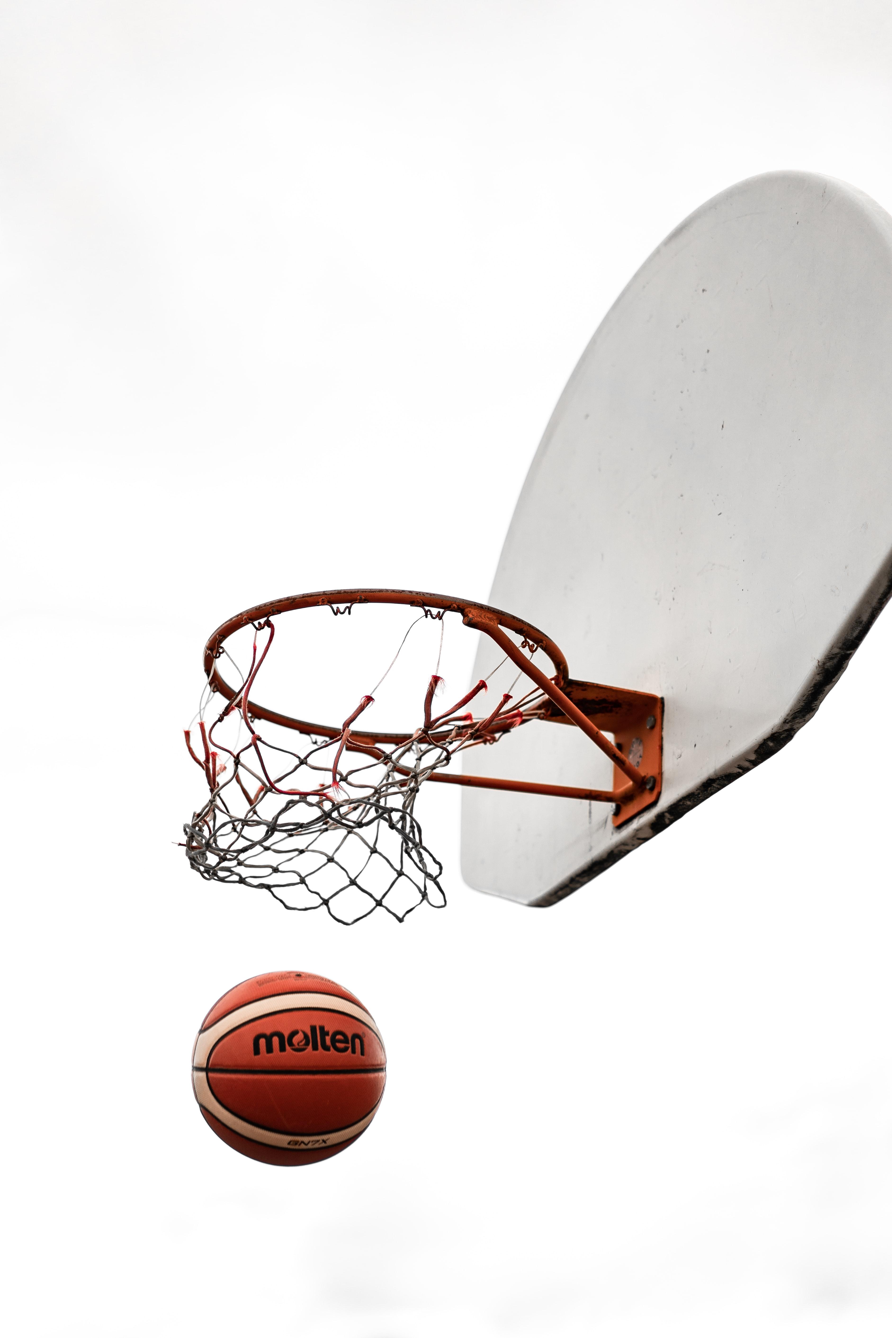 128891 скачать обои Спорт, Баскетбол, Мяч, Баскетбольная Сетка, Баскетбольное Кольцо, Баскетбольный Щит - заставки и картинки бесплатно