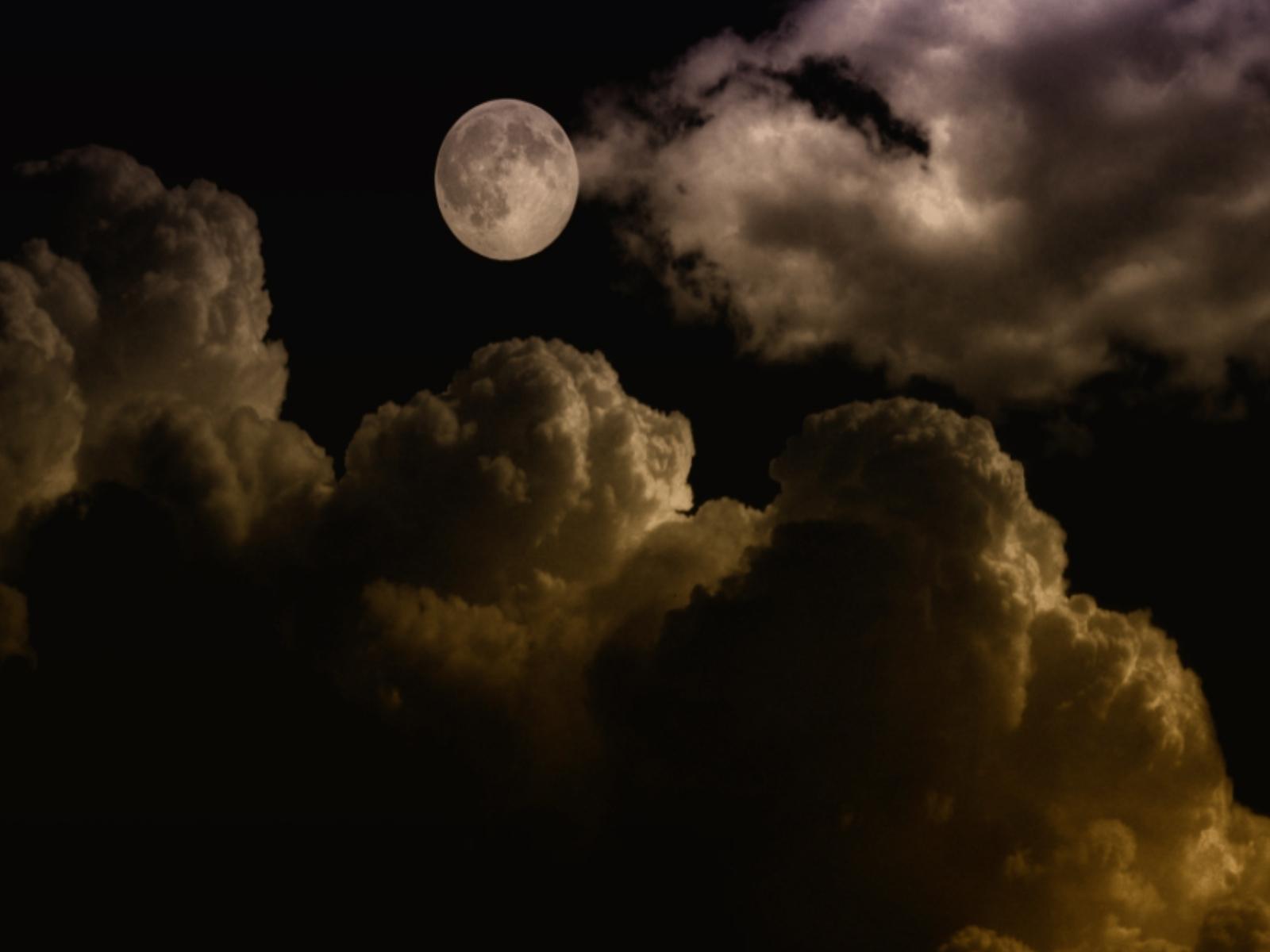 319 скачать обои Пейзаж, Небо, Ночь, Луна - заставки и картинки бесплатно