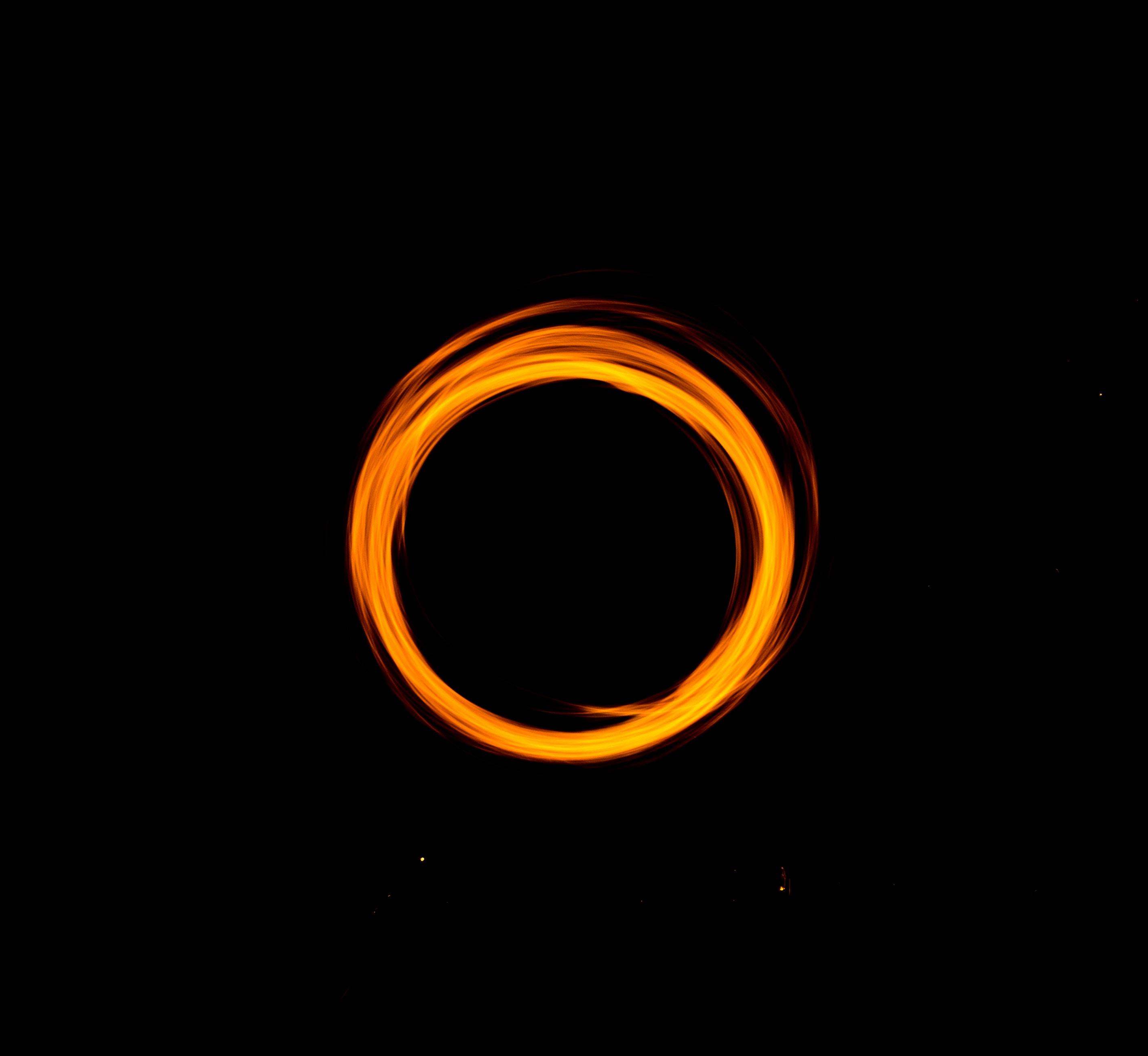 76240 download wallpaper Abstract, Shine, Light, Dark Background, Circle, Portal screensavers and pictures for free