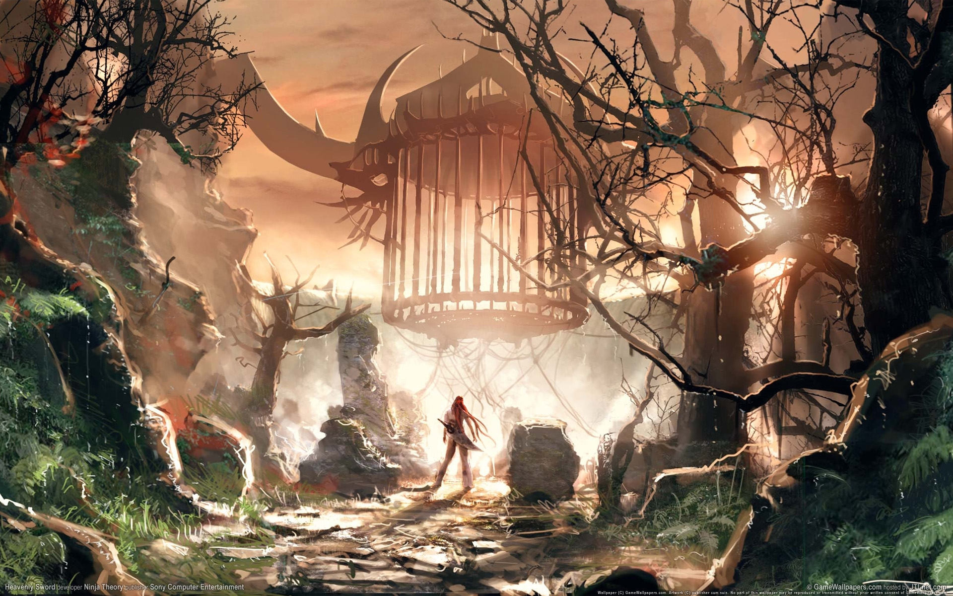 972 download wallpaper Landscape, Fantasy, Art screensavers and pictures for free