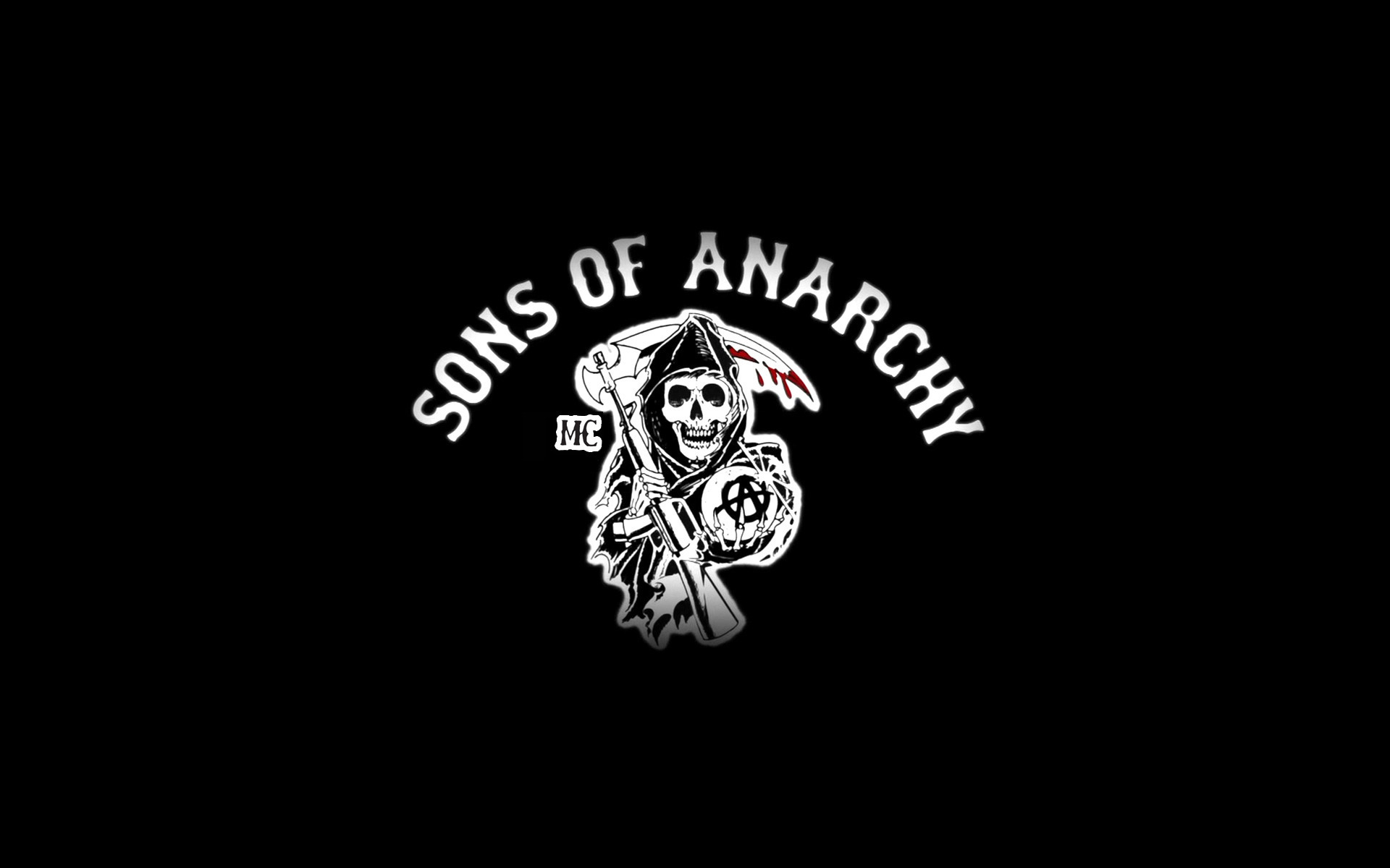 19844 download wallpaper Logos, Cinema, Background, Sons Of Anarchy screensavers and pictures for free