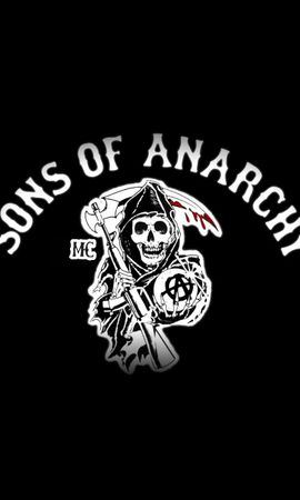 19844 download wallpaper Cinema, Background, Logos, Sons Of Anarchy screensavers and pictures for free