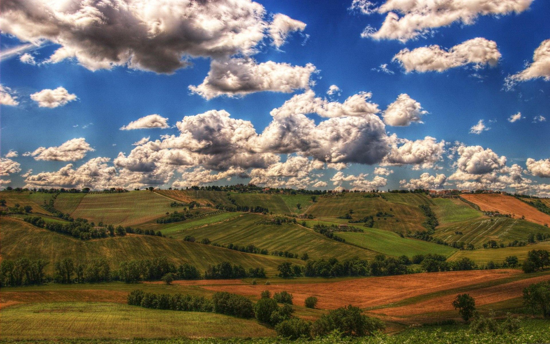 96321 Screensavers and Wallpapers Agriculture for phone. Download Nature, Fields, Mountains, Clouds, Shadows, Agriculture pictures for free
