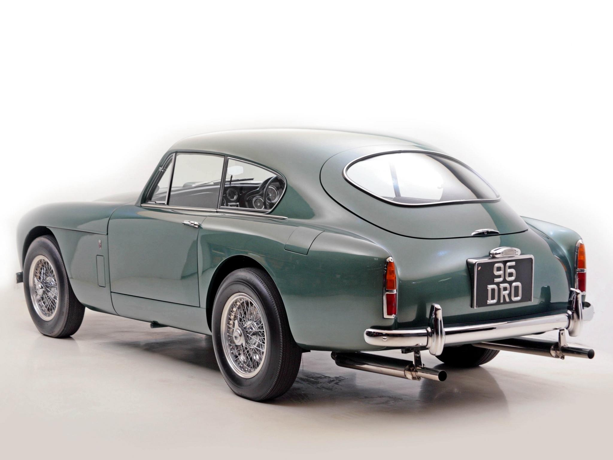 60702 скачать обои Машины, Астон Мартин (Aston Martin), Тачки (Cars), Зеленый, Вид Сбоку, Стиль, Ретро, 1958 - заставки и картинки бесплатно