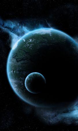 156634 baixar papel de parede Lua, Brilho, Brilhar, Escuro, Universo, Voar, Voo - protetores de tela e imagens gratuitamente