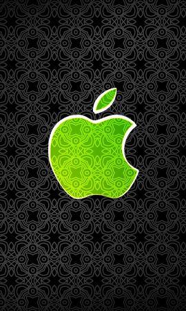 16577 скачать обои Бренды, Фон, Логотипы, Apple - заставки и картинки бесплатно