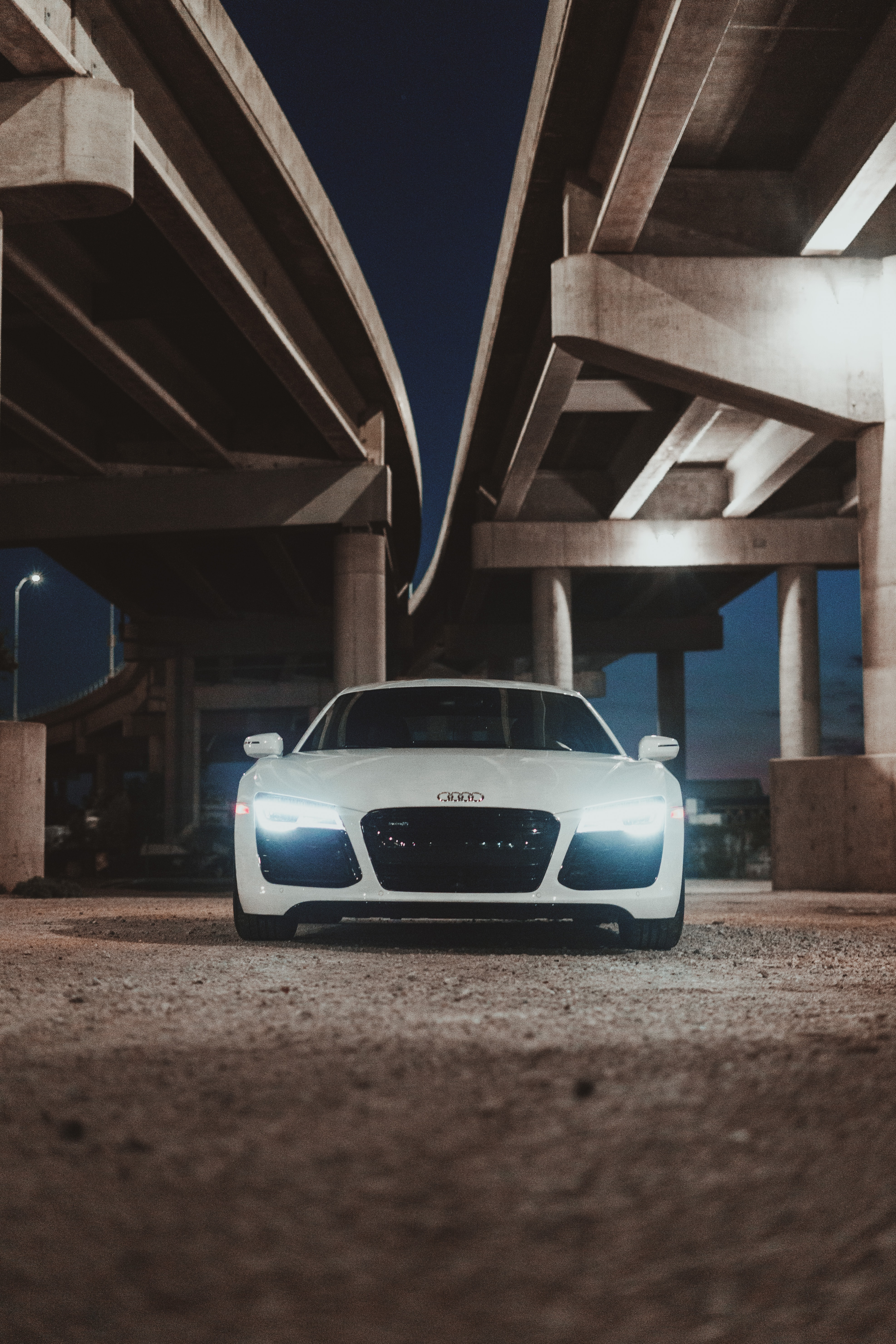 110199 descargar fondo de pantalla Coches, Audi R8, Audi, Carro, Coche, Vista Frontal, Brillar, Luz: protectores de pantalla e imágenes gratis